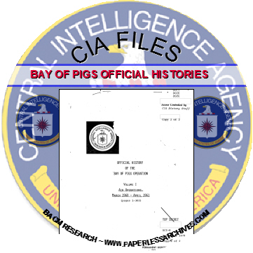 Bay of Pigs CIA Official History Volumes CD-ROM