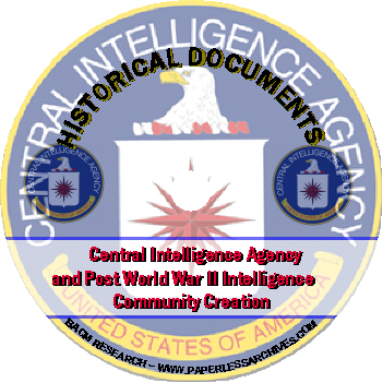 Central- Intelligence-Agency-and-Post-World-War-II-Intelligence-Community-Creation-Documents-CD-ROM