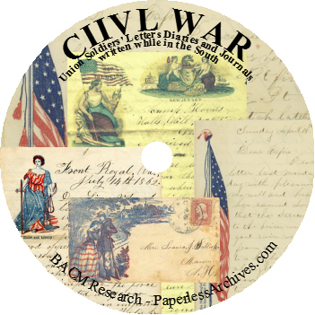Civil-War-Union-Soldiers-in-the-South-Letters-Diaries-Journals-DVD-ROM