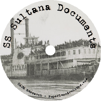 Civil-Was-SS-Sultana-Disaster-Documents