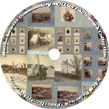 Civil War The Massachusetts Commandery MOLLUS Photograph Collection DVD-ROM