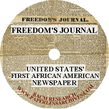 Freedom's Journal  CD-ROM