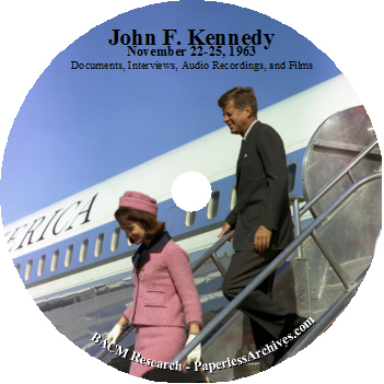 John-F-Kennedy-November-22-to-25-1963-Documents-Interviews-Audio-Recordings-Films-DVD-ROM