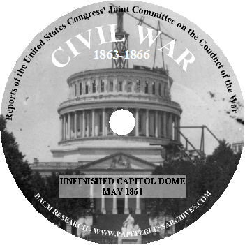 Civil War: Reports of the United States Congress Joint ...