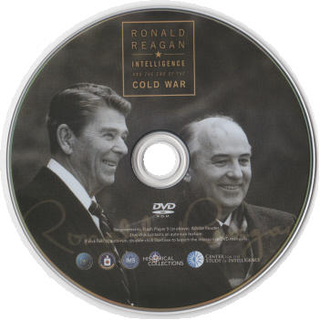 Ronald Reagan Cold War Ending CIA Files DVD-ROM