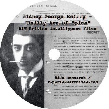 Sidney-George-Reilly-Ace-of-Spies-M15-British-Intelligence-Files-CD-ROM