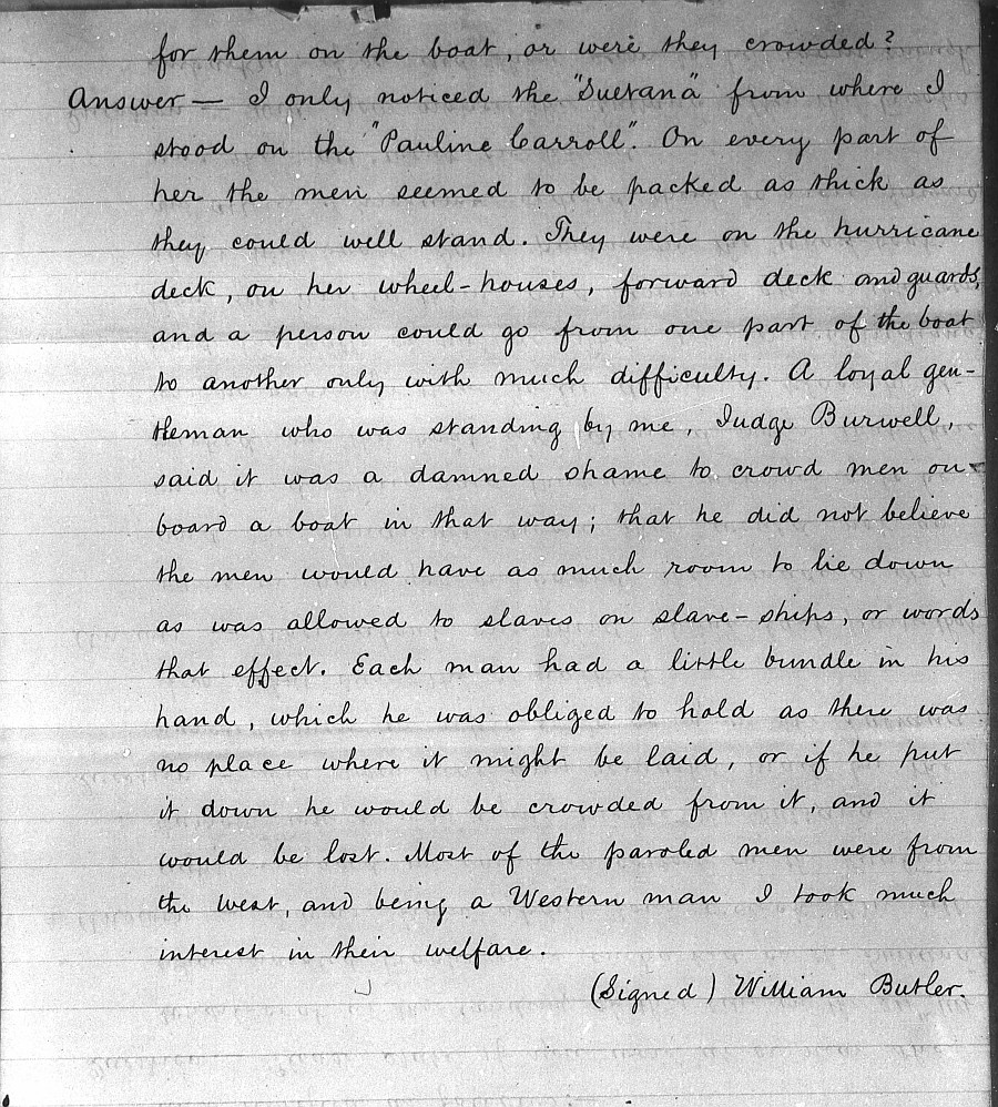 Testimony-of-William-Butler-a-cook-aboard-the-SS-Sultana-given-to- the-Washburn-Committee 2