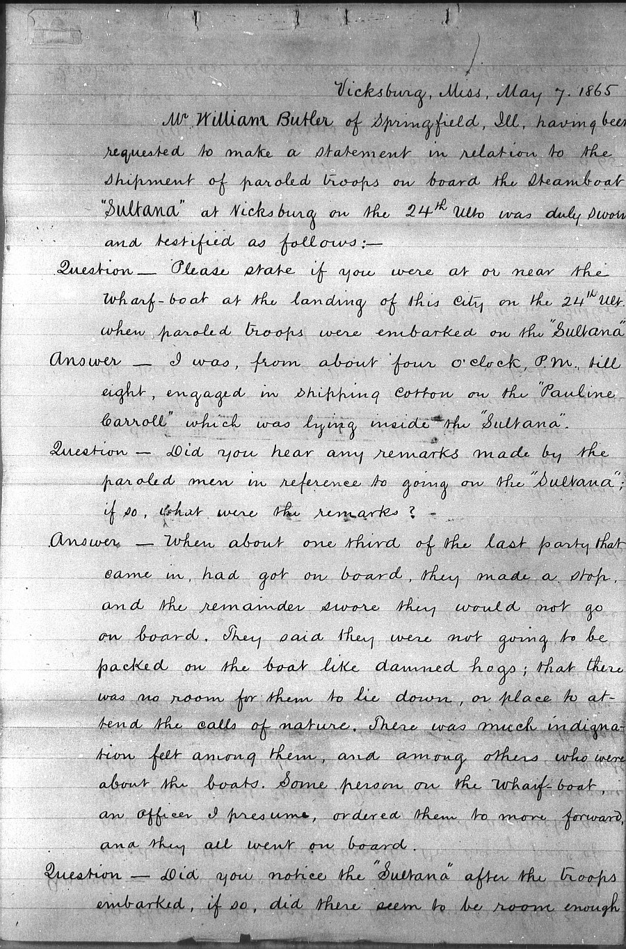 Testimony-of-William-Butler-a-cook-aboard-the-SS-Sultana-given-to-the Washburn-Committee-1