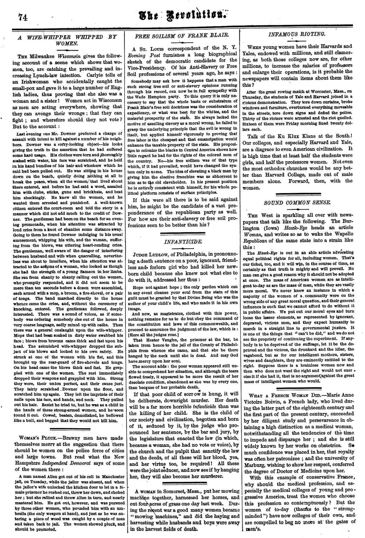 The-Revolution-Susan-B.-Anthony's-Suffrage-Women's-Rights-Newspaper-August-6,-1868