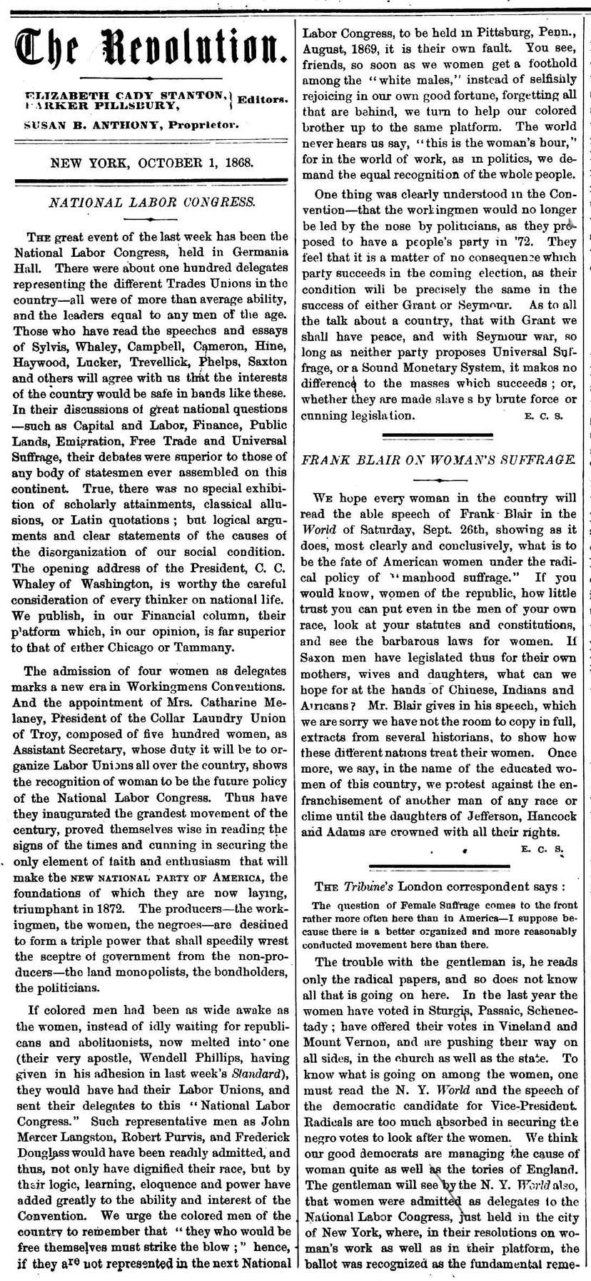 The-Revolution-Susan-B.-Anthony's-Suffrage-Women's-Rights-Newspaper-October-1,-1868