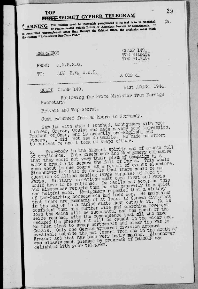 WWII-British-Foreign-Office-Document-5