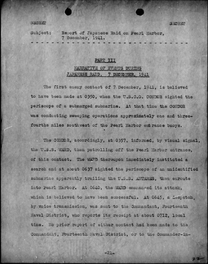 WWII-Pearl-Harbor-CINCPAC-Report-and-Commanding-Officer-Narratives-Pages-1