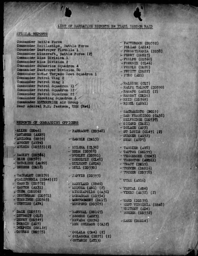 WWII-Pearl-Harbor-CINCPAC-Report-and-Commanding-Officer-Narratives-Pages-4