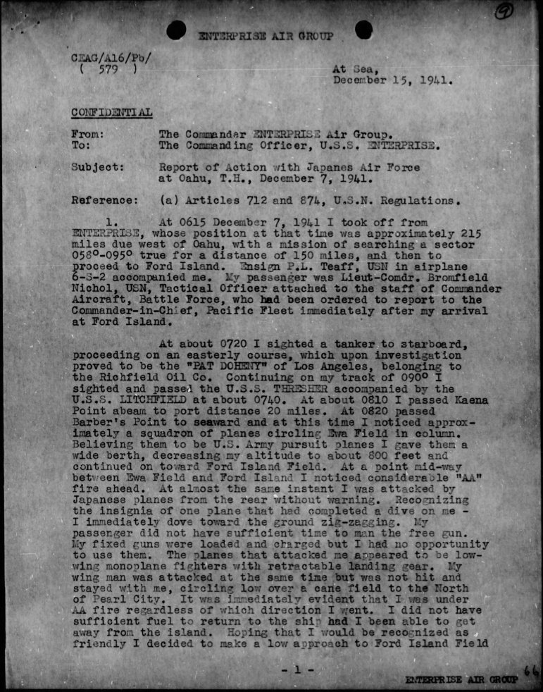 WWII-Pearl-Harbor-CINCPAC-Report-and-Commanding-Officer-Narratives-Pages-6