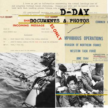 WWII D-Day Documents SQUARE resize