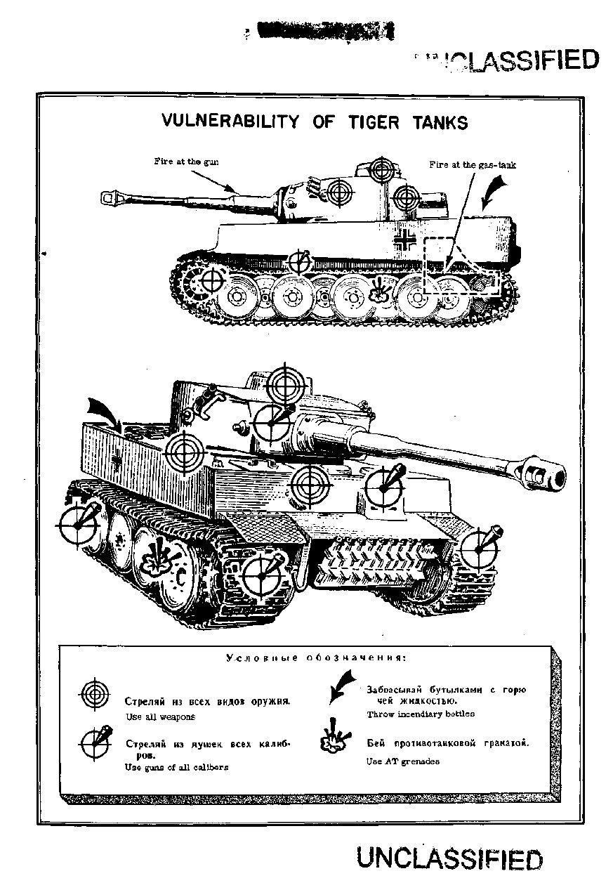WWII Intelligence Service Tactical And Technical Trends Bulletins Page 8