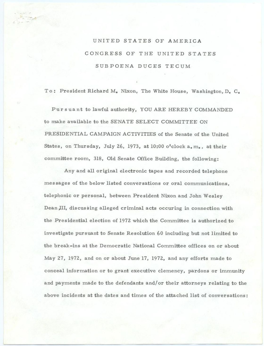 Watergate-Congressional-Investigations-Documents-10
