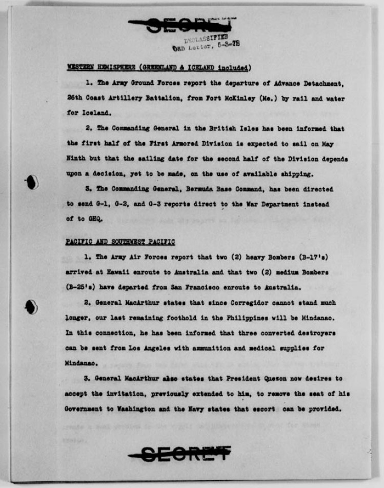 World-War-II-War-Department-Operational-Summary-Page-5