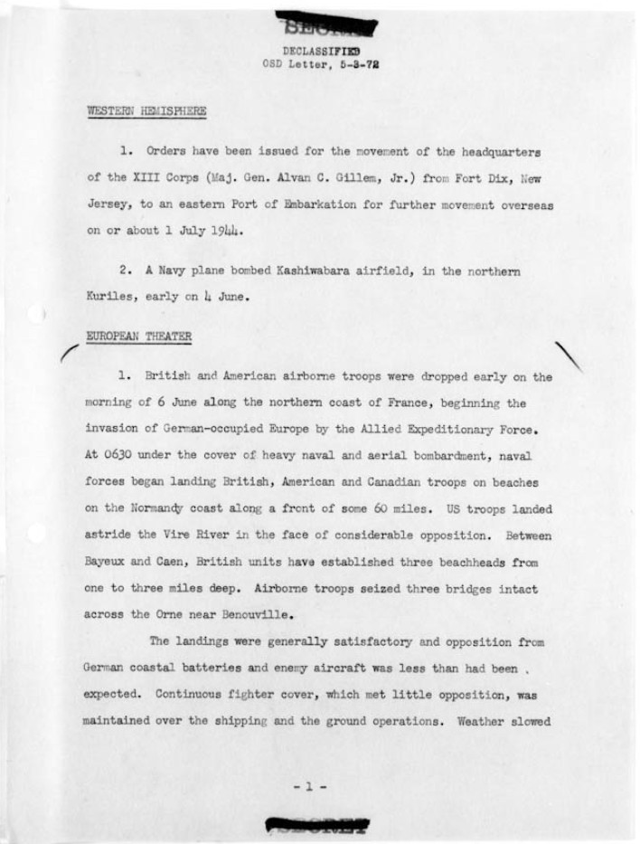 World-War-II-War-Department-Operational-Summary-Page-6