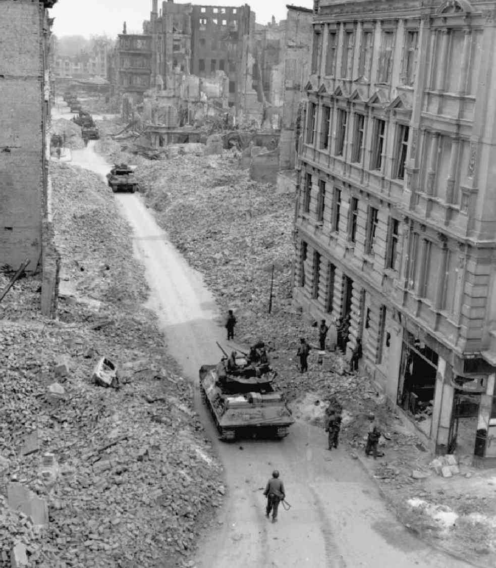 World War II Tank Destroyers in Magdeburg