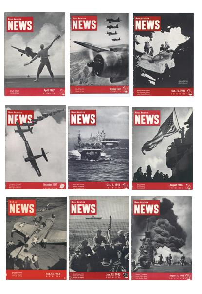 World War II Naval Aviation News Covers